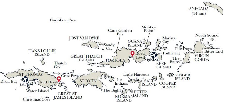 BVI map