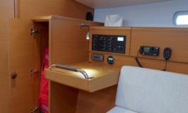 Sunsail 38 Interieur