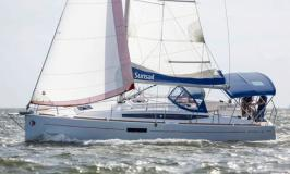 Sunsail 34 segelnd