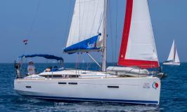 Sunsail 41 segelnd